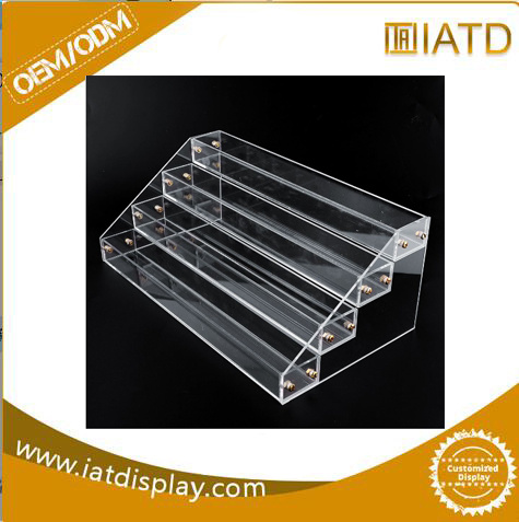China Customized Clear Countertop PDQ Acrylic Display Stand