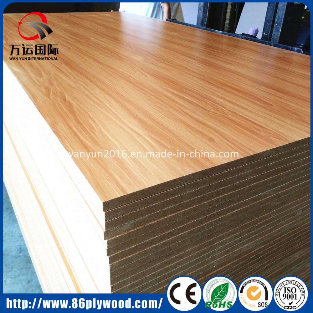China High Gloss Matt Embossed Melamine Laminate Hpl Sheets Plywood Mdf