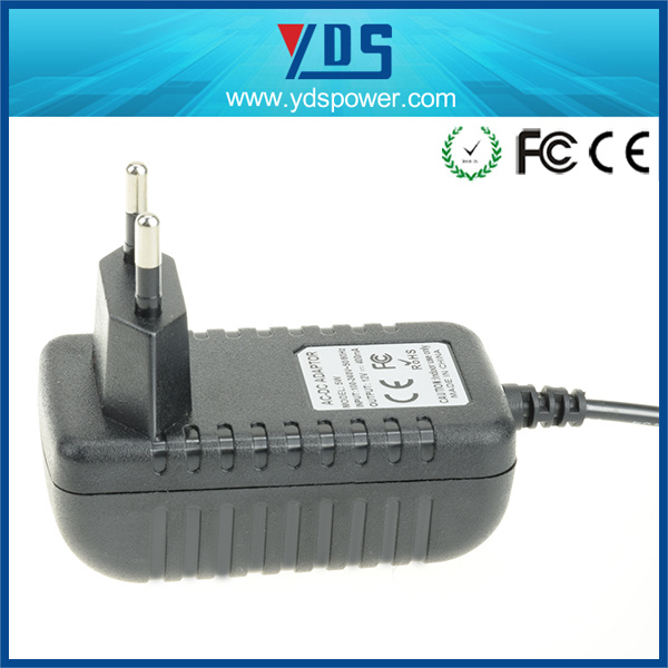 12V 400mA EU Wall Plug Adapter pictures & photos