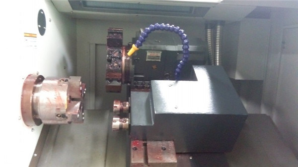 Small Slant Bed CNC Lathe Machine with Linear Guideway