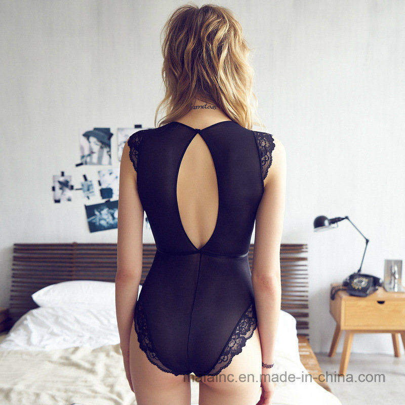 New Design Ladies One-Piece Sexy Sleepwear pictures & photos