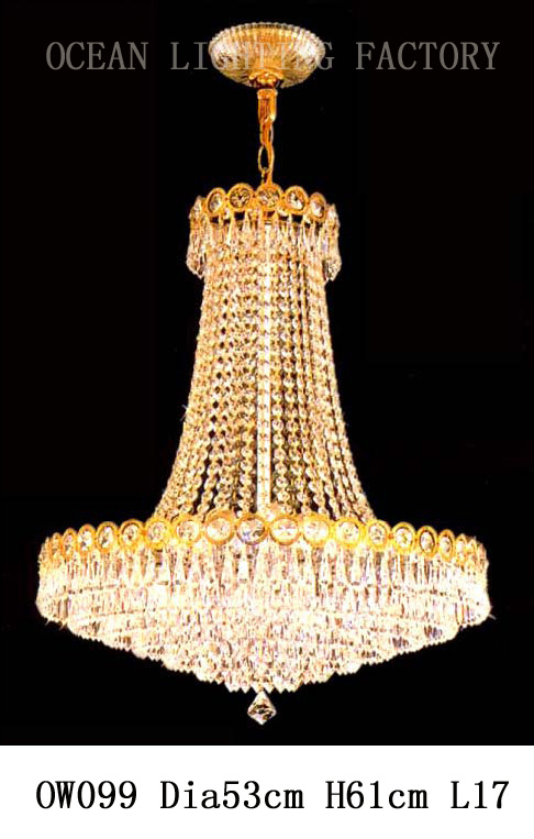 Customized Classical Traditional K9 Crystal Pendant Lighting (OW099) pictures & photos