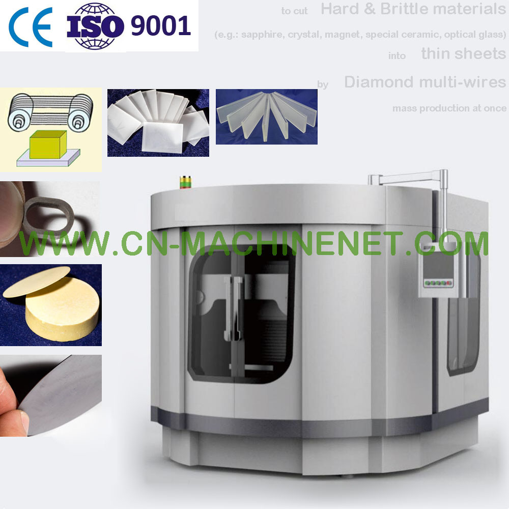 China Automatic Diamond Multi Wire Saw Precision Cutting Machine to ...