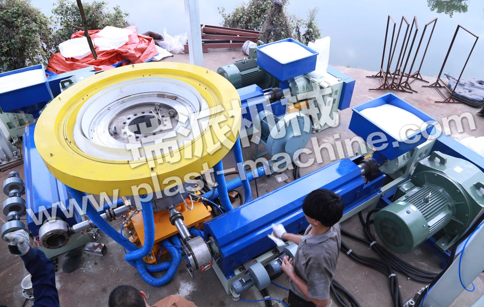 Best Quality High Speed Three Layer Co-Extrusion Film Extruder Machine pictures & photos