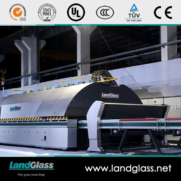 Landglass Through Horizontal Flat Tempered Glass Making Furnace Machine pictures & photos