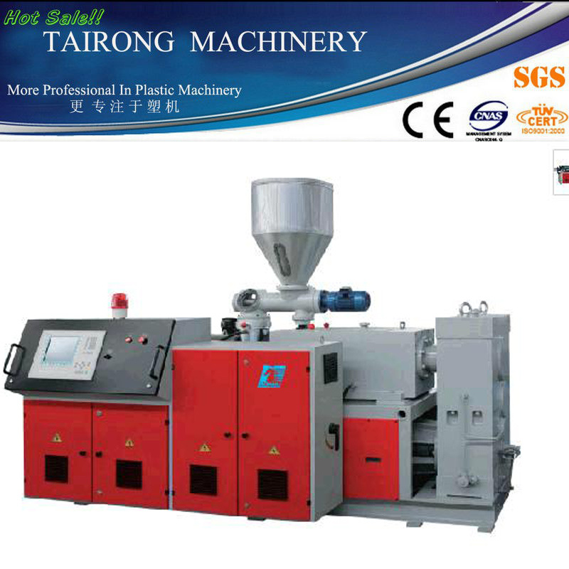 Conical Double Screw Extruder/Double Screw Extruder/Plastic Extruder