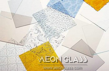 3mm, 4mm, 5mm, 6mm, 8mm Clear Patterned Glass, Clear Pattern Glass
