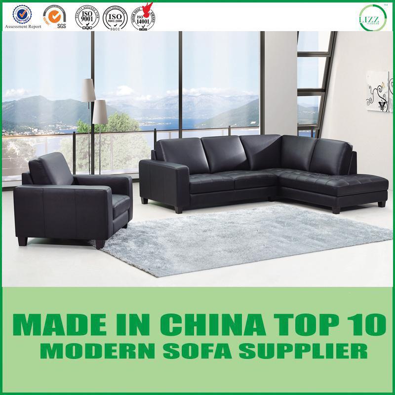 [Hot Item] Divani Italian Modern Genuine Leather Sofa Couch
