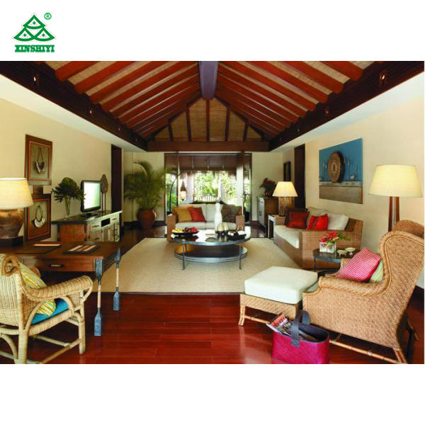 China Tropical Villa Style Hotel, Tropical Style Living Room Furniture