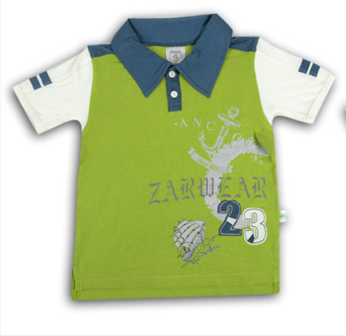 Zaxwear New Style Cotton Bamboo Boys Stylish T Shirt