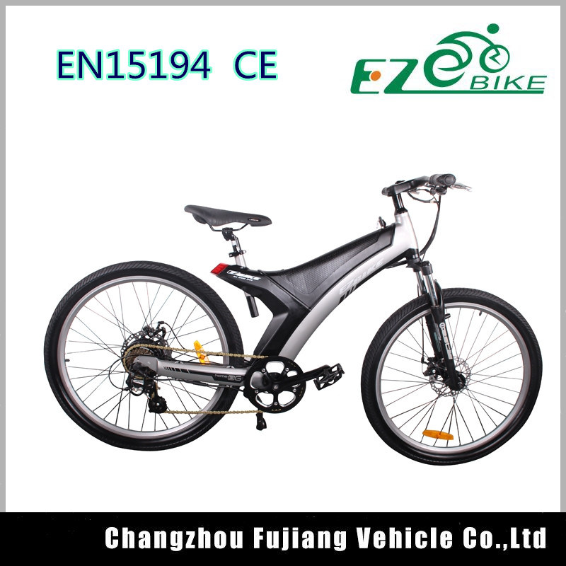 China 26 Inch Electric City Bike with Magnesium Integrated Wheel ...