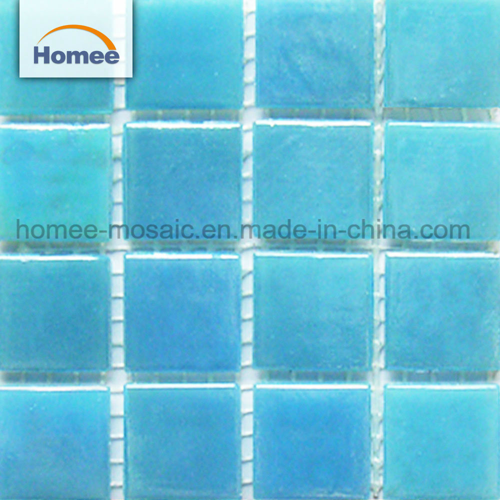 [Hot Item] Square Shape 20X20 Glass Mosaic Outdoor Swimming Pool Tiles