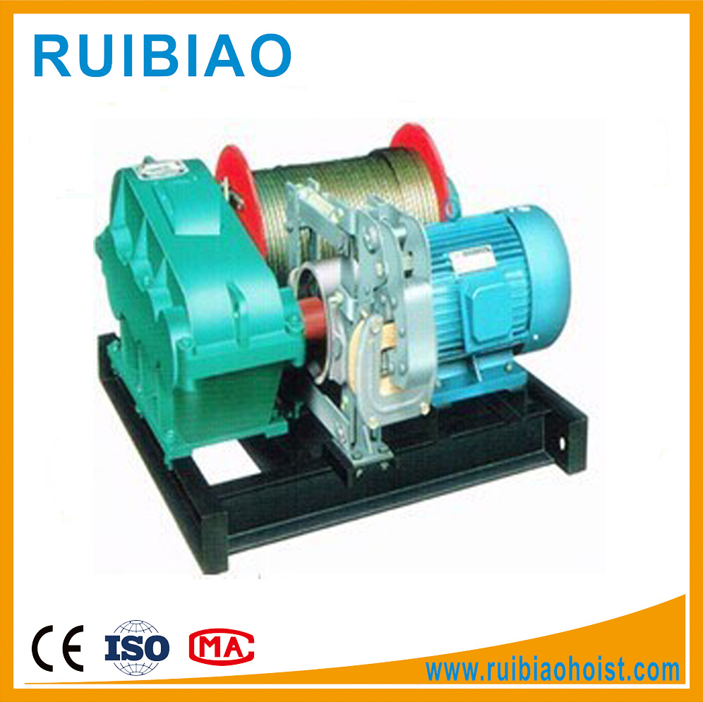 China Cable Puller Winch Power Cable Pulling Electric Winch 380V ...