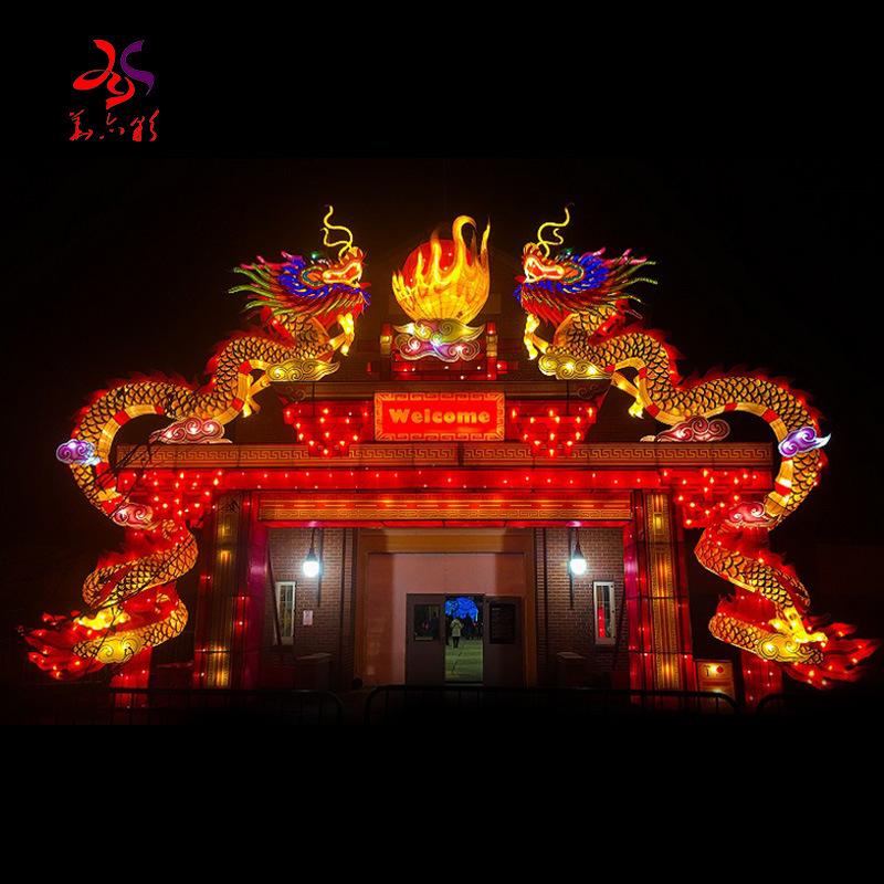 Huayicai New Design Arch Door Chinese