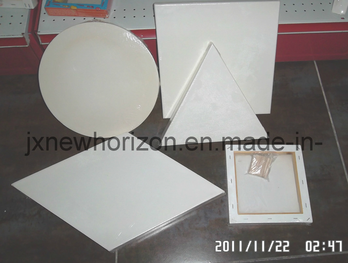 Irregular Shape Streched Canvas