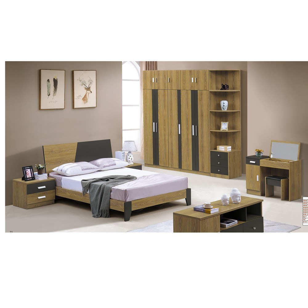 China Cheap Price Hot Sale High Quality Bedroom Furniture Set for