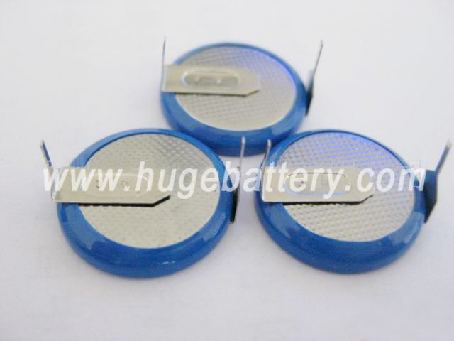 3.6V Rechargeable Li-ion Button Cell LIR2016