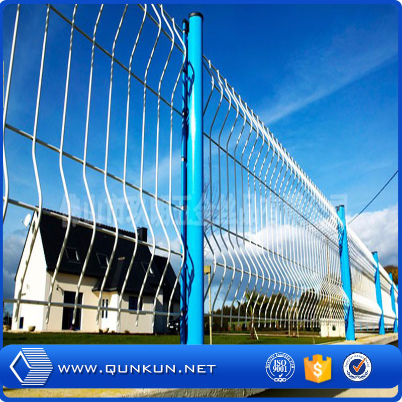 China PVC Painted 3 D Garden Wire Folding Fence with Factory Price ...
