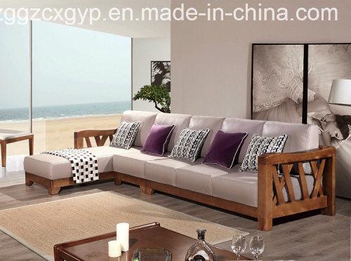 [Hot Item] Wholesale Modern Sofa/Corner Sofa/Office Sofa/Kids Sofa/Wood  Frame Sofa/Bedroom Wood Frame Sofa Cx-Ws014