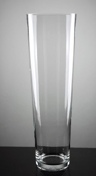China Tall Clear Glass Flower Vase Ld10031 China Tall Glass Vase