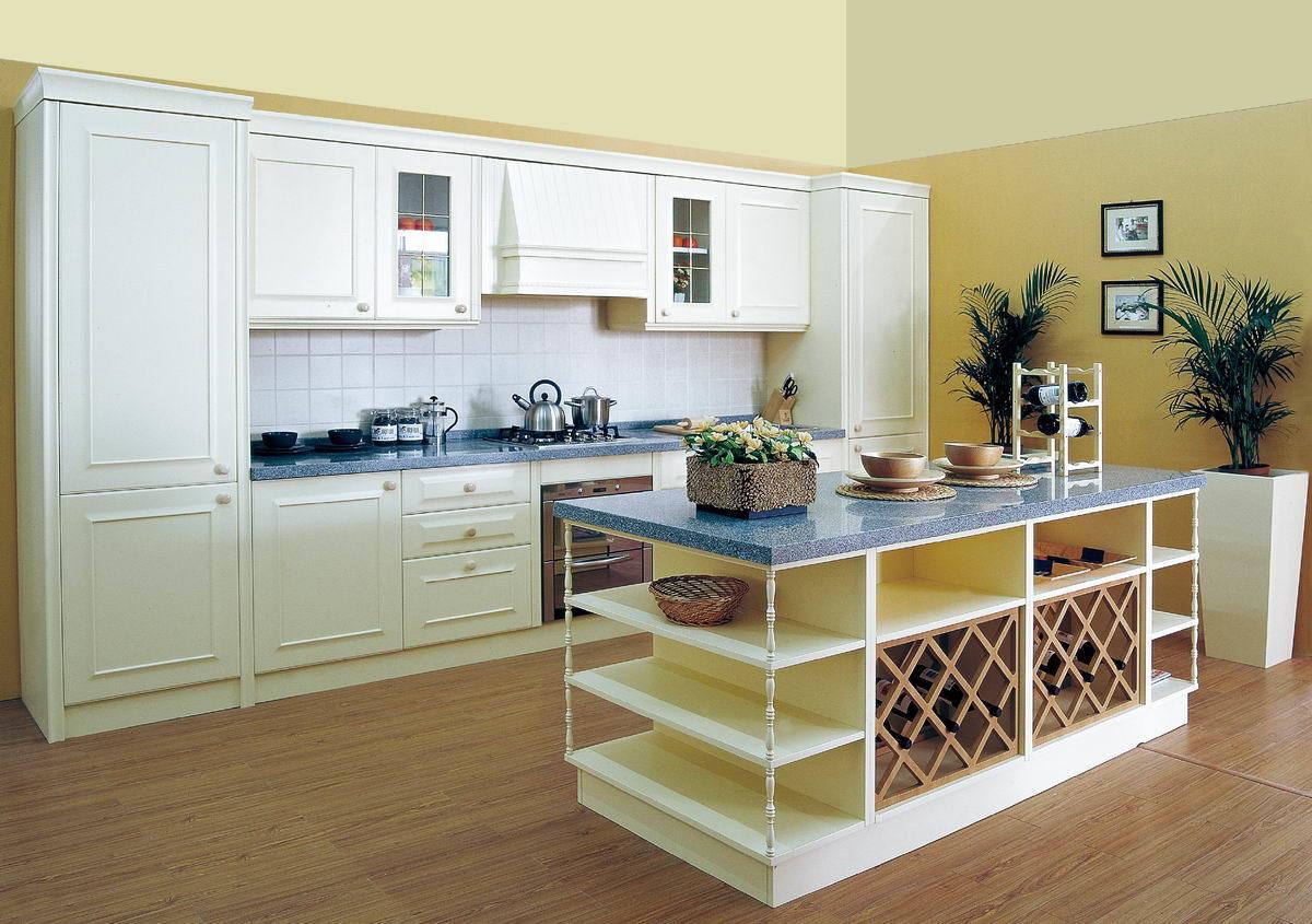 China PVC Wrap Cabinets (Athena II) - China Kitchen ...
