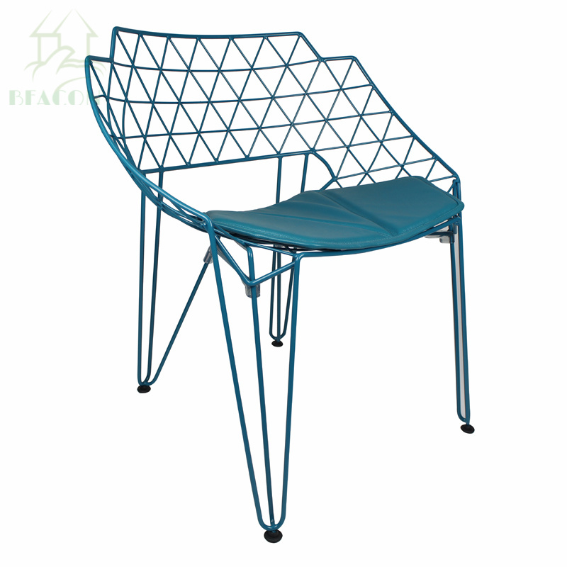 China Cheap Metal Wire Dining Room Chair - China Diamond Wire Chair ...