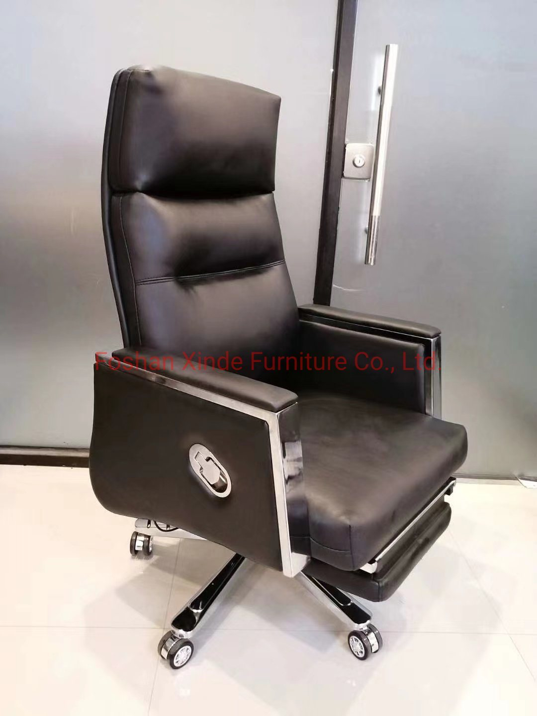 China High Modern Office Chair High Back Swivel Pu Leather Comfortable Office Chairs China Brown Chair Pu Chair