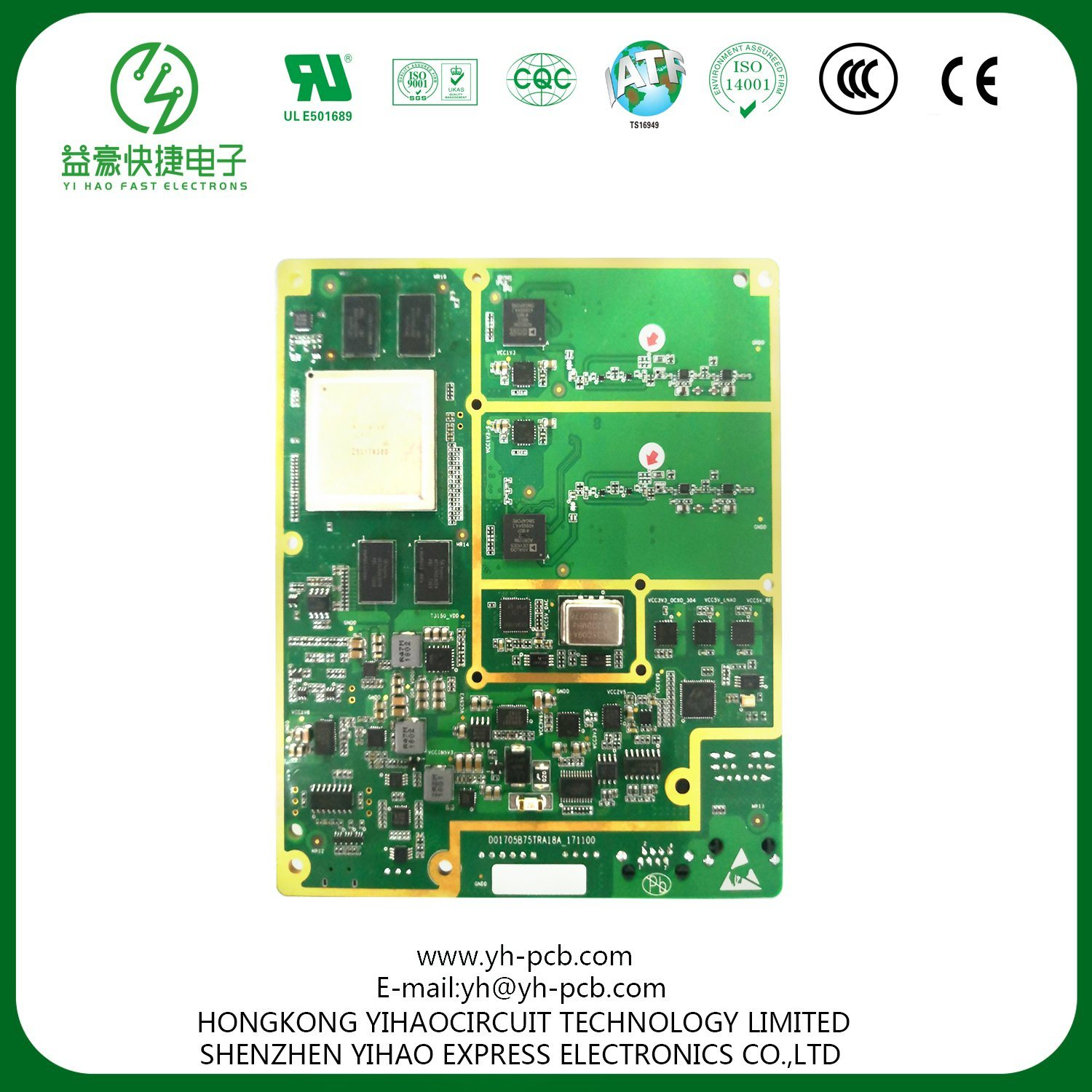 Wholesale Smt Pcb Pcba Buy Reliable From Shenzhen Oem Electronic Printed Circuit Board Manufacturerpcb Electronics Fabrication Assembly With High Quality