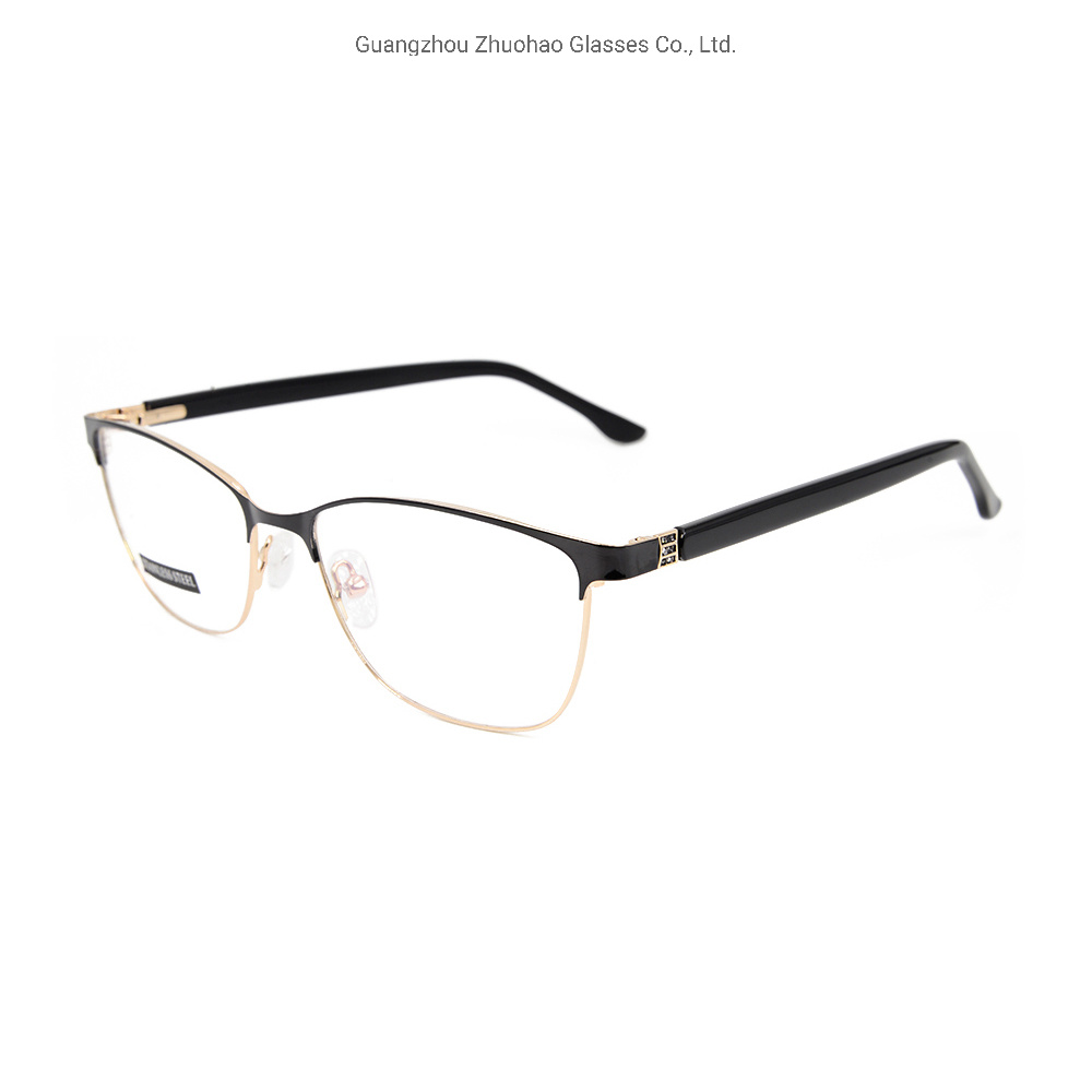 0f9a05f88a China 2019 Wholesale Fashion Products Latest Model Spectacle Frame Metal  Optical Glasses Frame for Women - China Eyeglass Frame