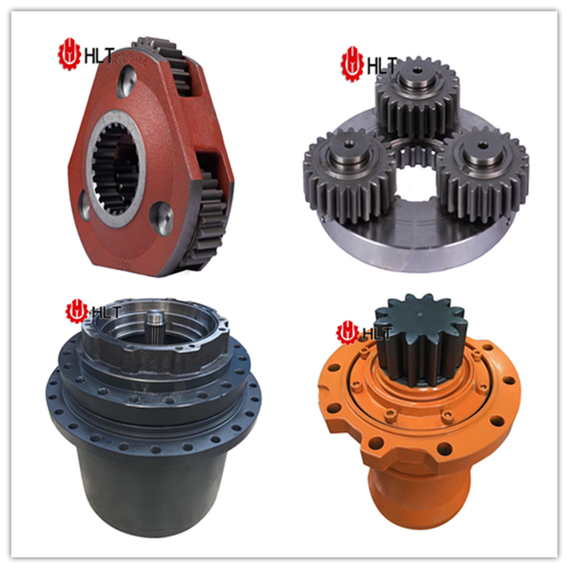 [Hot Item] Digger Transmission Gearbox Hydraulic Motor Spare Parts  Caterpillar Excavator Attachments