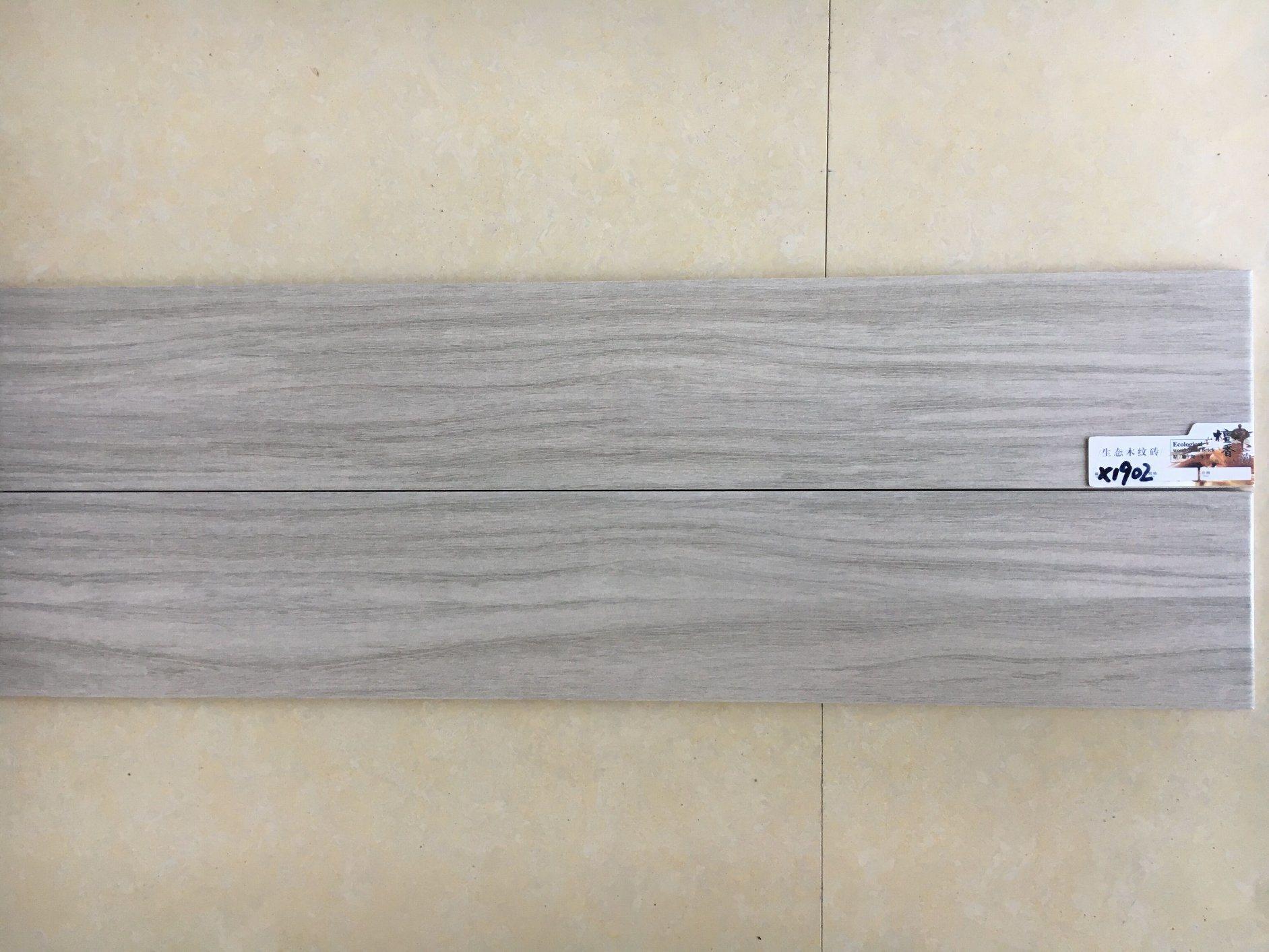 Hot Item 150 900mm Rustic Wood Plank Porcelain Tile For Floor Decoration