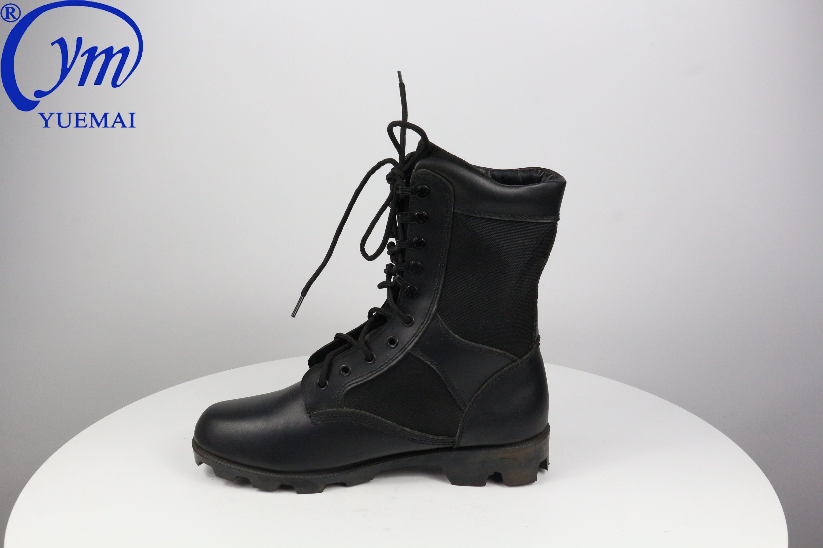 China Hot Sale Full Leather Rubber Sole