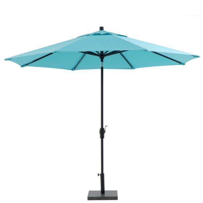 Alum 9 Ft 8 Ribs Patio Umbrella