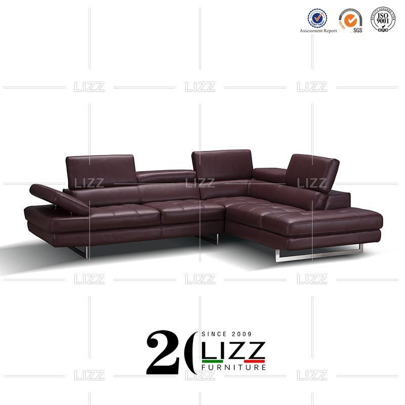 Furniture Set Modular Genuine Leather