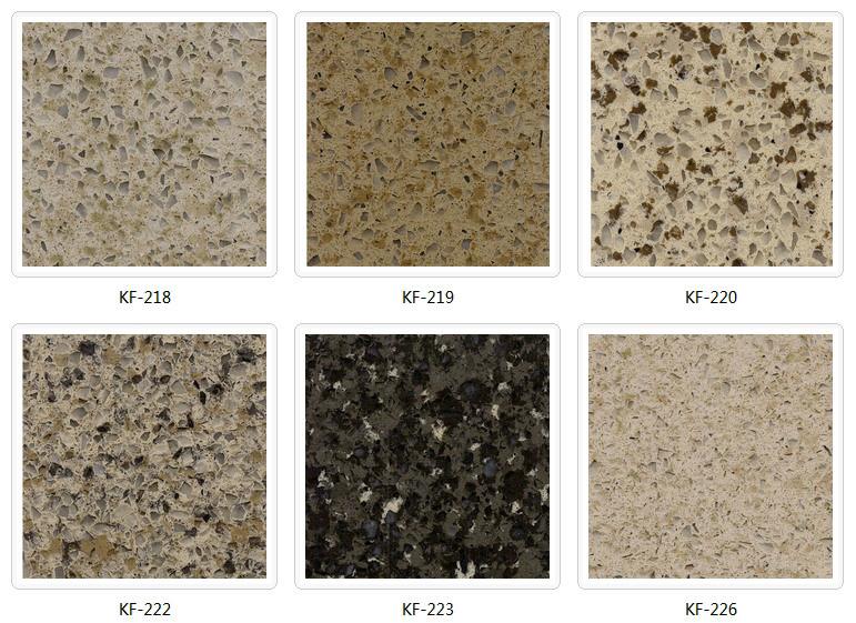 China High Quality Engineered Marble Floor Tiles Quartz Stone