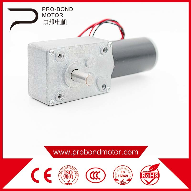Brush DC Worm Gear Motor Wholesale 31zyj