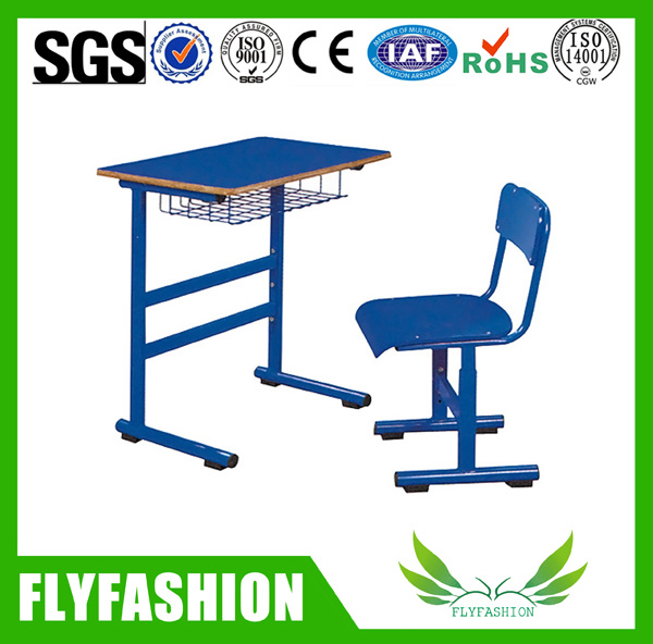 Wooden Single Desk and Chair for Student (SF-62S)
