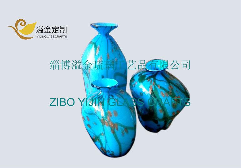 China Large Handbown Gl Vases Home Decoration - China ... on