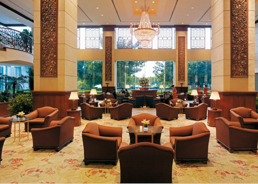 China Hotel Lobby Sofa Restaurant Dining Sets Jns 034 Luxury