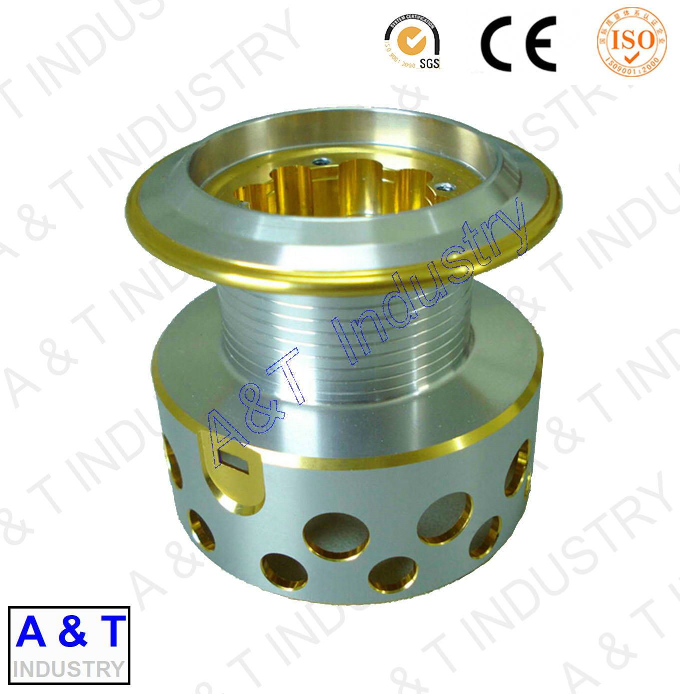 CNC Customized Aluminum CNC Turning Machine Parts pictures & photos