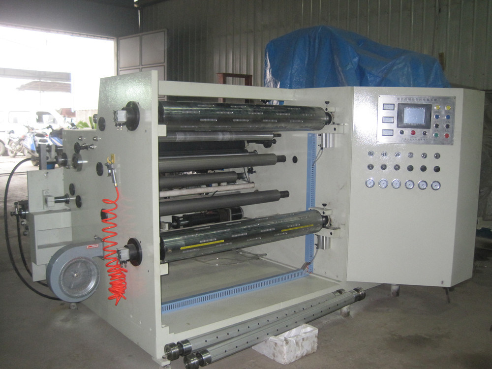 Rtfq-900/1600b Automatic Paper PVC Roll Slitting Rewinding Machine