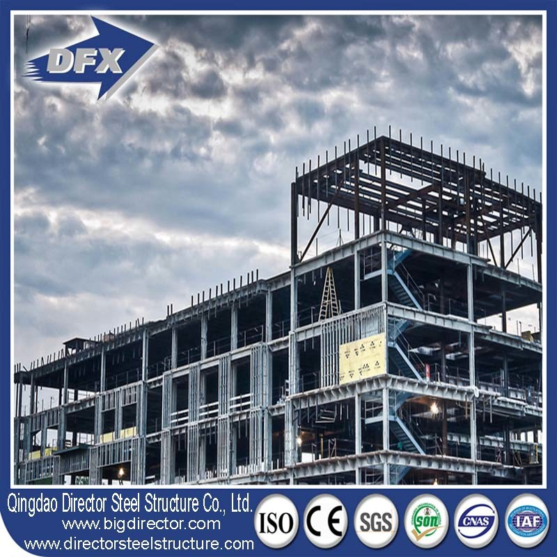 Multi-Storey Pre-Engineered Modular Fast Construction High Rise Steel Frame Building pictures & photos