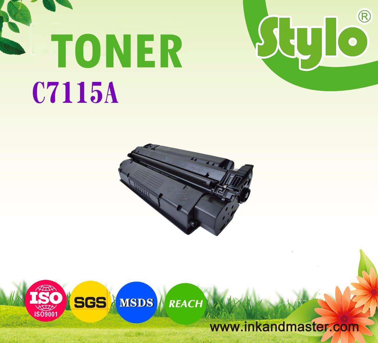 C7115A Laser Printer Toner Cartridge for Use in HP Laserjet 1000/1220/3330/3300 Printer