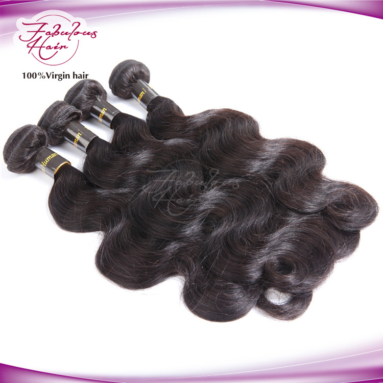 China No Chemical Process Virgin Indian Temple Hair Weaving China