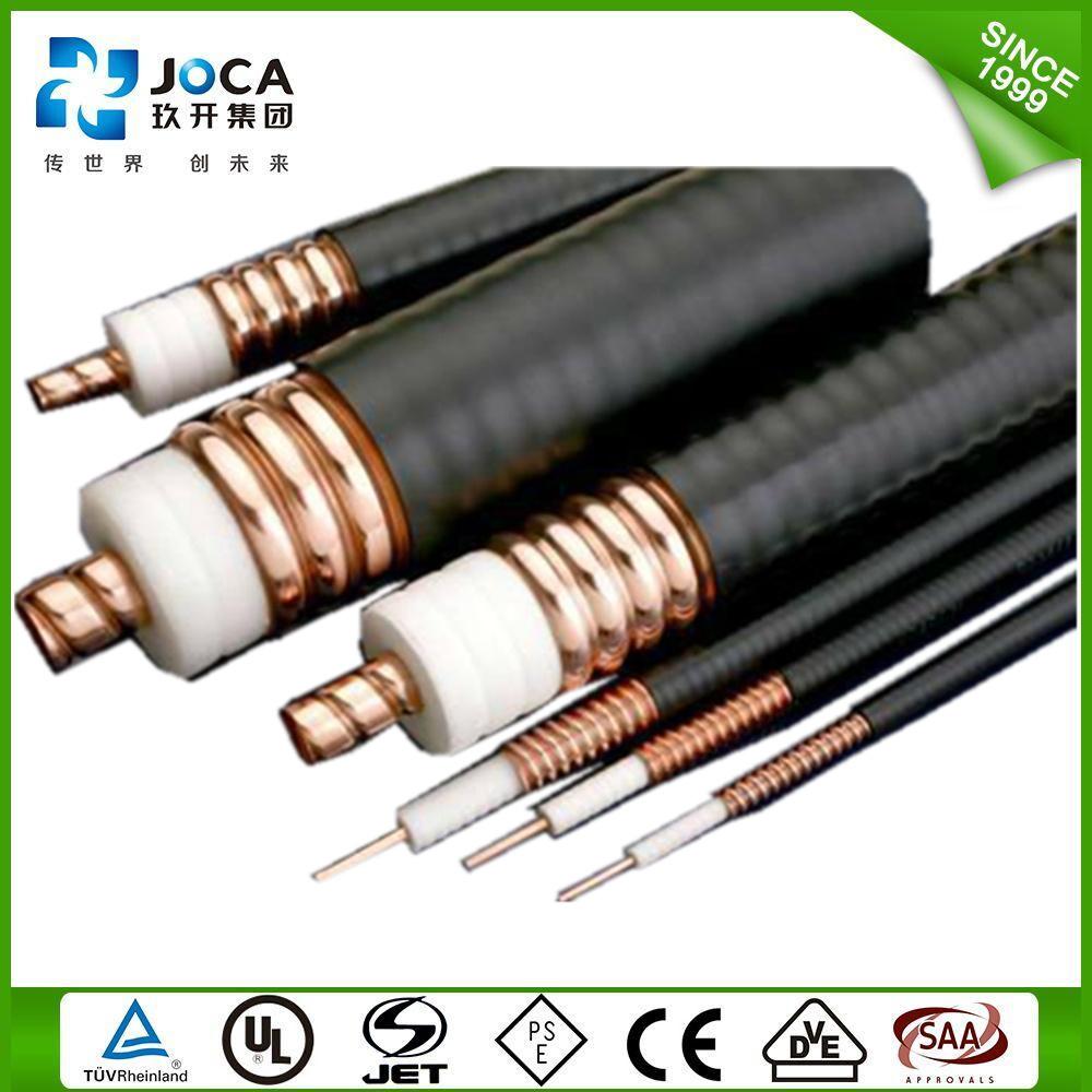 China Copper Tube 7 8 Rf 50 Ohms Leaky Feeder Coaxial