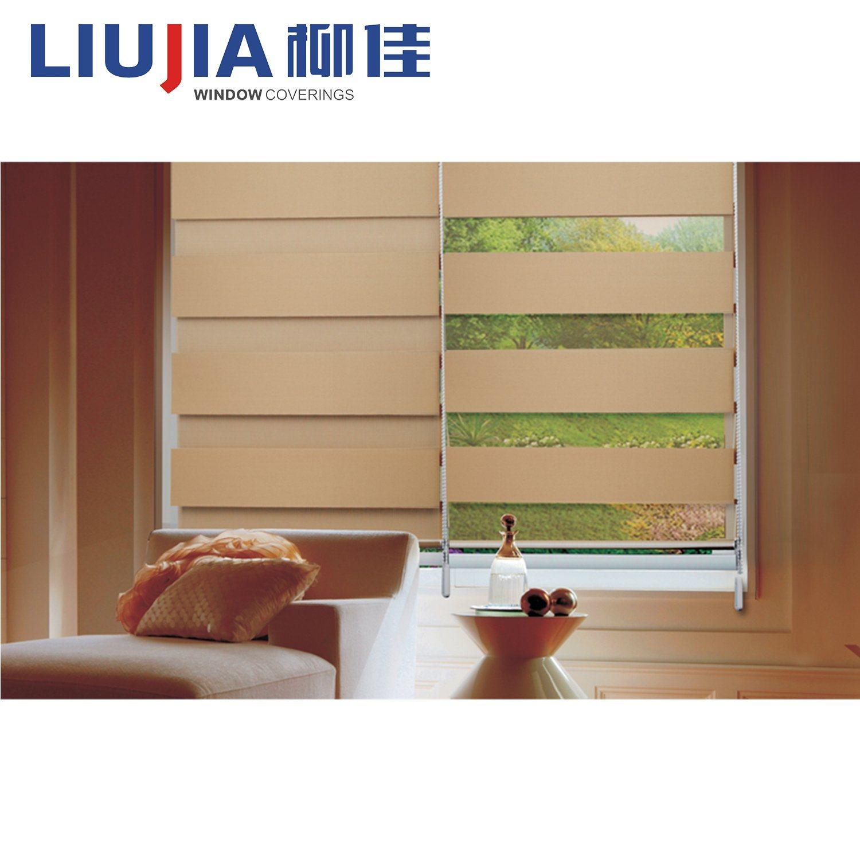 Hot Item Blackout Vintage Style Blinds Roller Window Curtains Zebra Blind