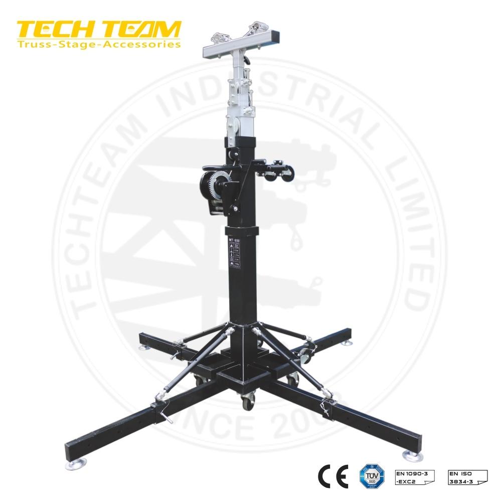 Hot Item Portable Lighting Truss Hand Crank Stand