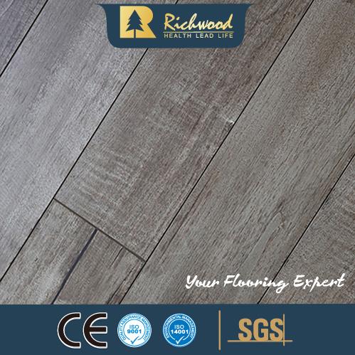 China Pearl Surface Wax Coating Hdf Laminate Laminated Flooring