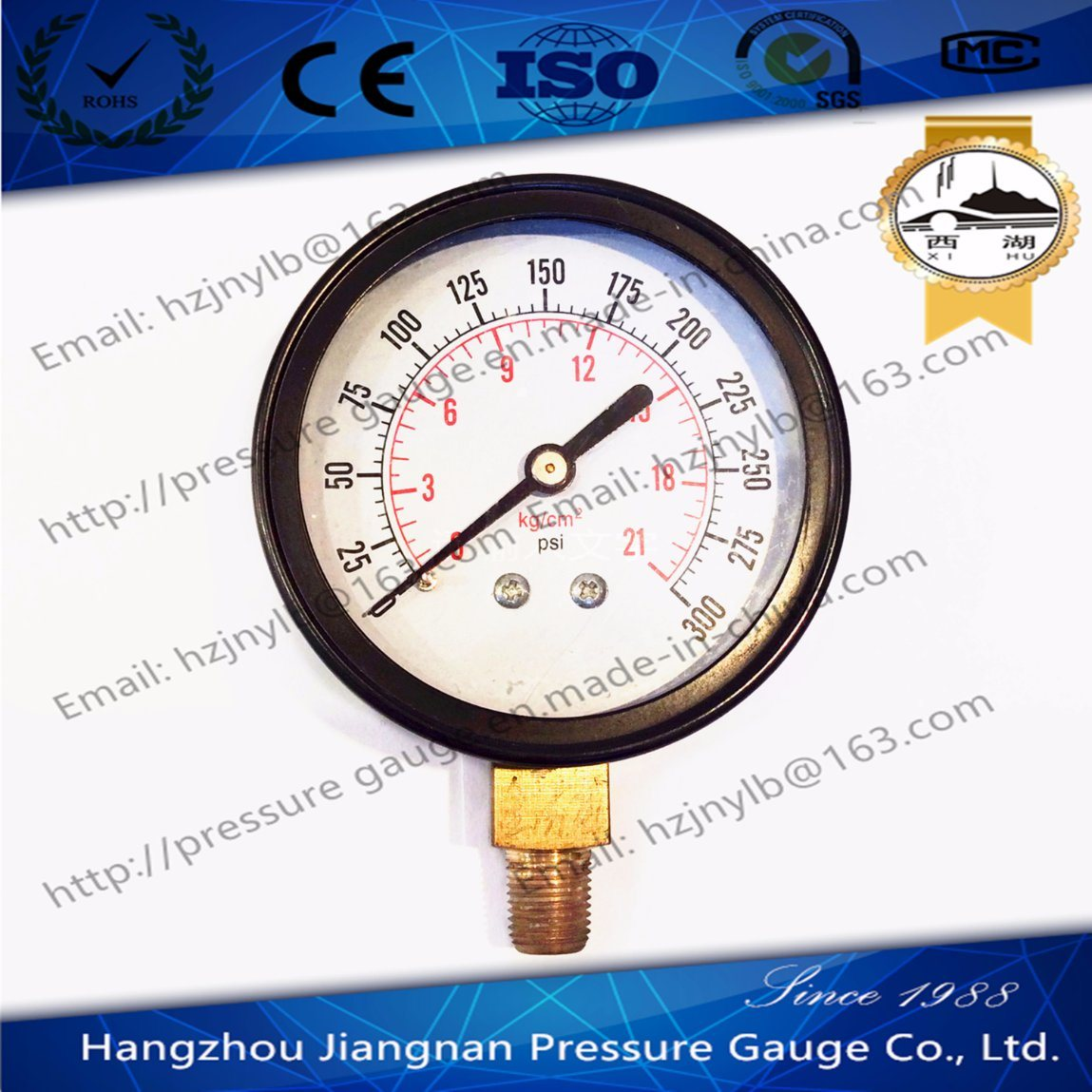 70mm General Air Pressure Gauge