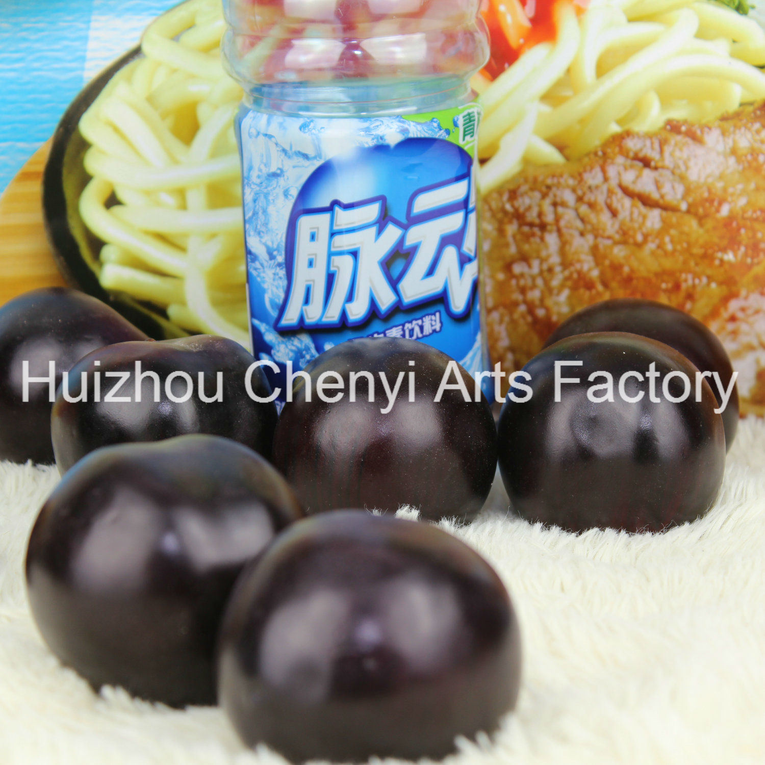 Artificial Black Plum Beautifully Decorated